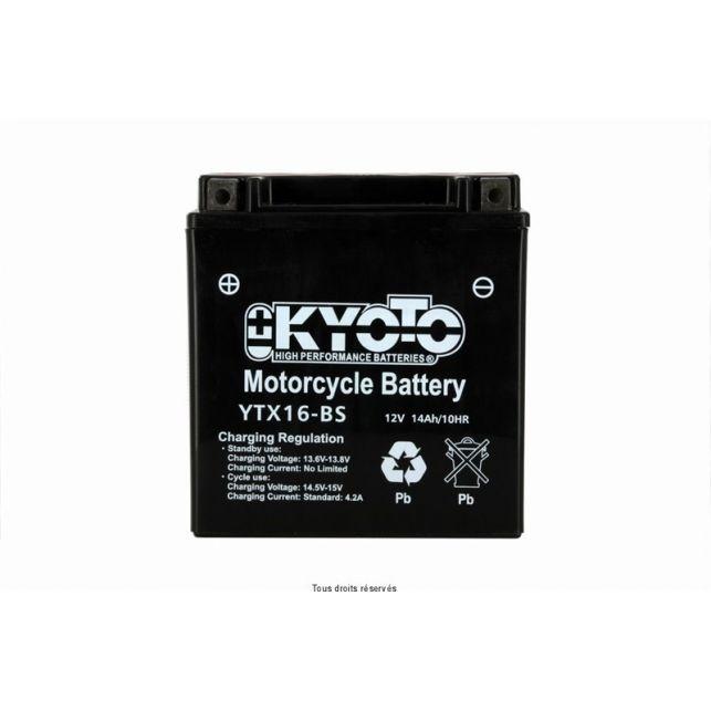 Batterie KYOTO YTX16-BS sans entretien
