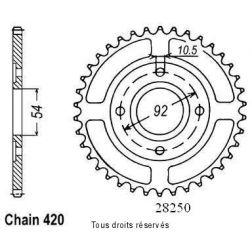 Couronne 50 à boite 28250CZ47 pour TZR50 / 50POWER 04-