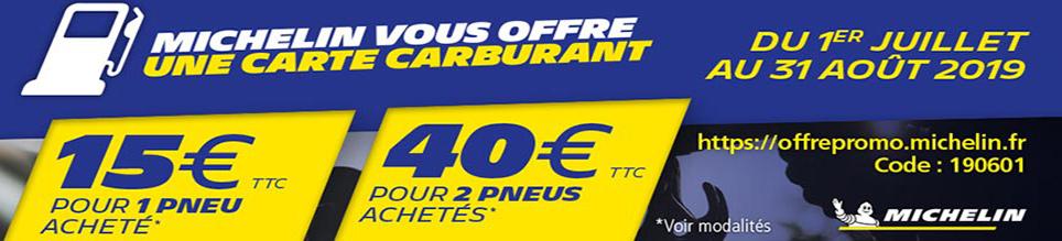 1 carte carburant 30euros ou 40euros OFFERTE
