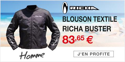 Moto Expert - Découvrez le blouson textile RICHA BUSTER