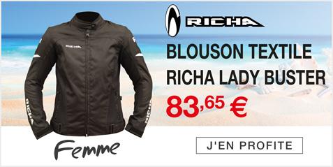 Moto Expert - Découvrez le blouson textile RICHA LADY BUSTER