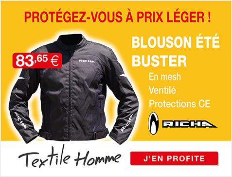 Moto Expert - Découvrez le blouson textile homme RICHA BUSTER