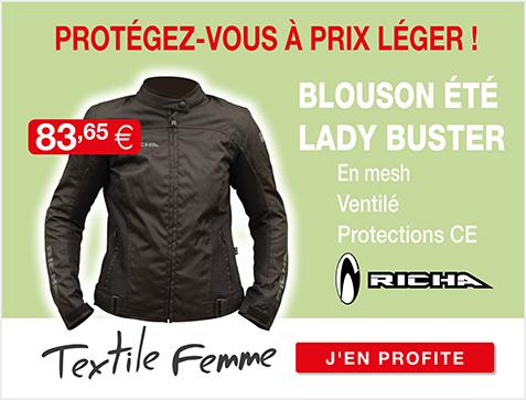 Moto Expert - Découvrez le blouson textile femme RICHA LADY BUSTER