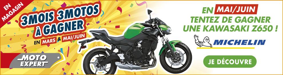 EN MAI-JUIN - UNE MOTO KAWASAKI Z650 A GAGNER - 2020 Moto Expert